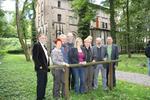 Foto: Der Arbeitskreis Kultus an der Gedenkstätte Augustaschacht.