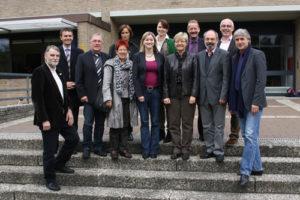 Der AK Kultus mit Kathrin Rühl und Frauke Heiligenstadt (MdL) in der Hagener Oberschule.