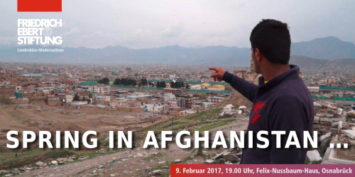 "Veranstaltungshinweis: ""Spring in Afghanistan – to go or not to go"""