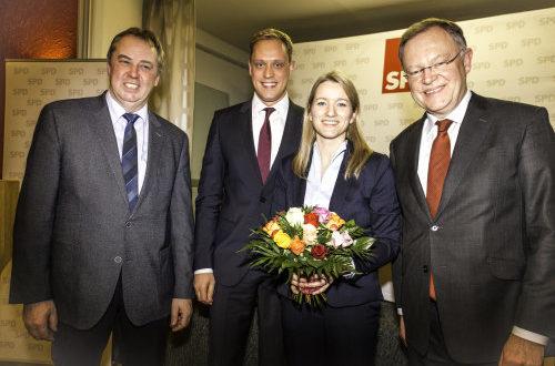Wahlkampfauftakt im Wahlkreis Georgsmarienhütte: Kathrin Wahlmann erneut Kandidatin für die Landtagswahl