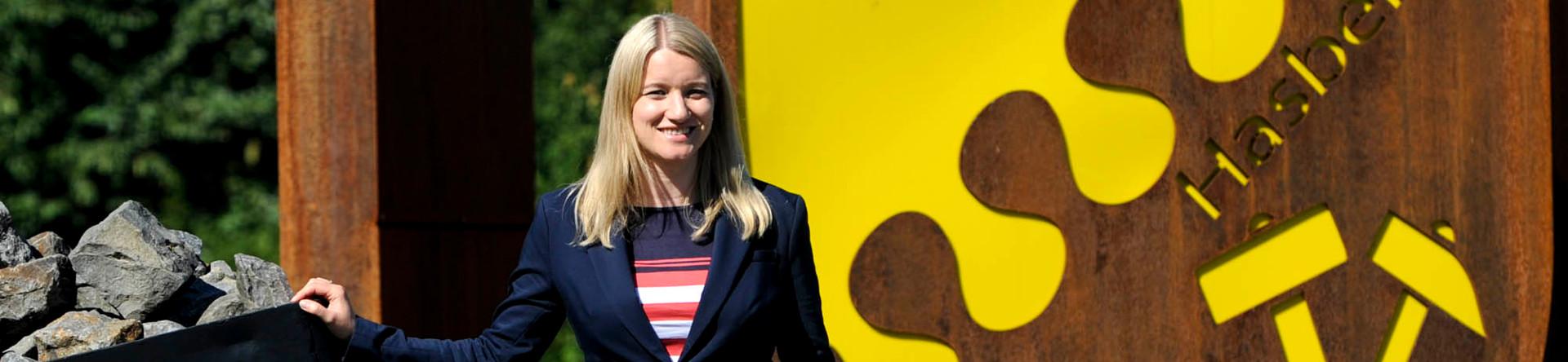 Kathrin Wahlmann, SPD, Spitzenkanditatin in Hasbergen